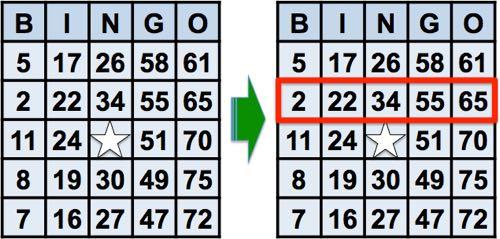 bingo carte