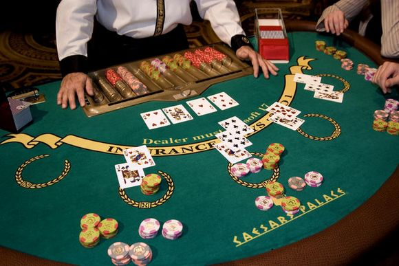 casino blackjack tables