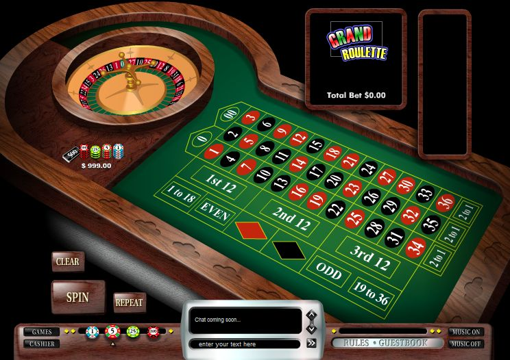 casino jeux roulette