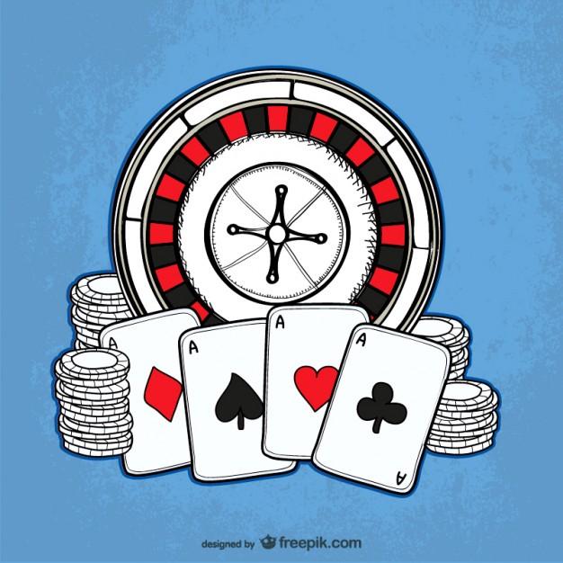 dessin de jeux casino