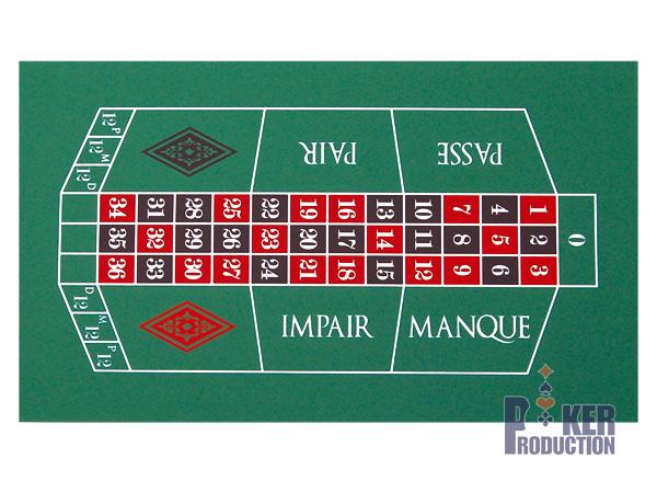tapis roulette casino