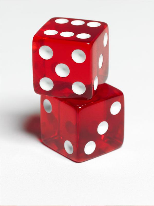 jeu de dés a deux